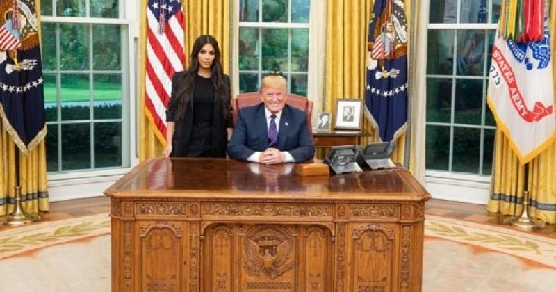 «Trump rencontre la croupe» : l'entretien entre Donald Trump et Kim Kardashian moqué par la presse et les internautes