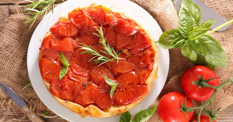 Une tatin de tomates pour le dîner, ça vous tente ?