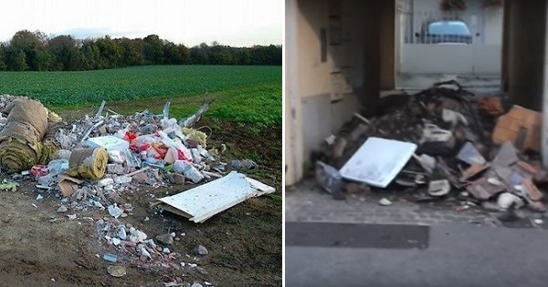 En Picardie, un maire adopte le principe du « retour à l'envoyeur » pour lutter contre ceux qui jettent leurs déchets dans la nature !