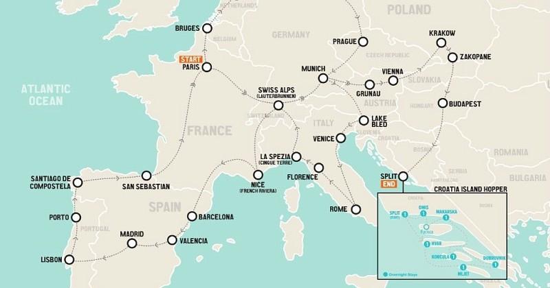 Une compagnie propose de vous payer pour participer à un road trip de 3 mois à travers l'Europe