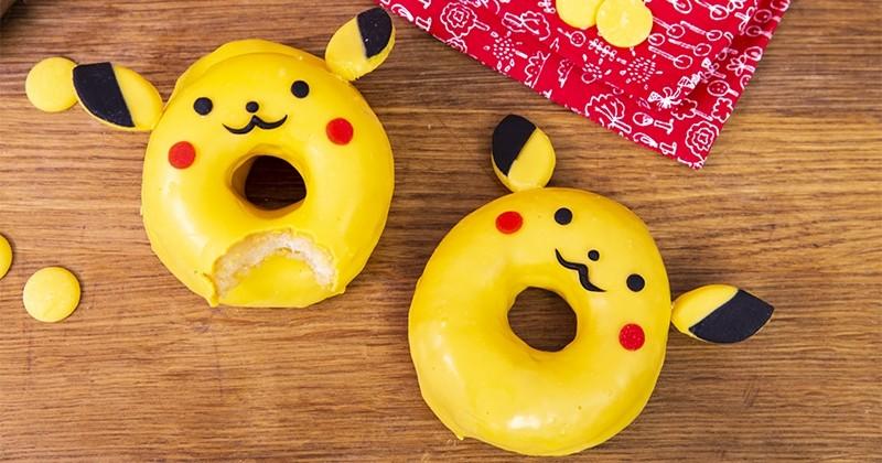 Fondez pour les Donuts Pikachu mignons et gourmands !