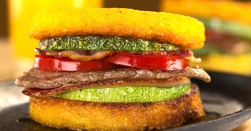 Burger polenta Recette