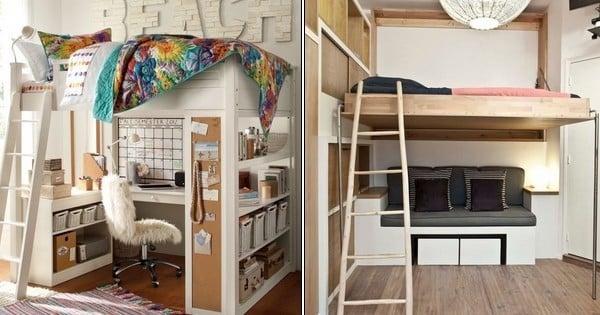 si vous vivez dans un petit appartement voici 22 id es absolument fantastiques pour y optimiser. Black Bedroom Furniture Sets. Home Design Ideas