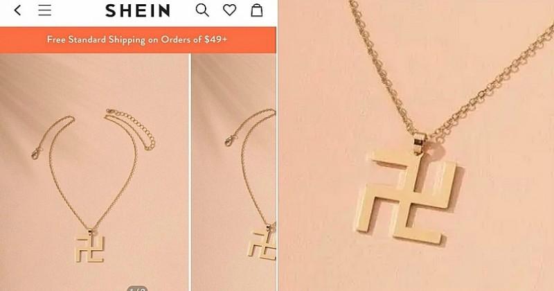 Le site SHEIN fait scandale en proposant à la vente un collier « croix gammée »