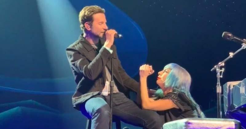 Bradley Cooper surprend les fans de Lady Gaga et vient interpréter « Shallow » sur scène à Las Vegas