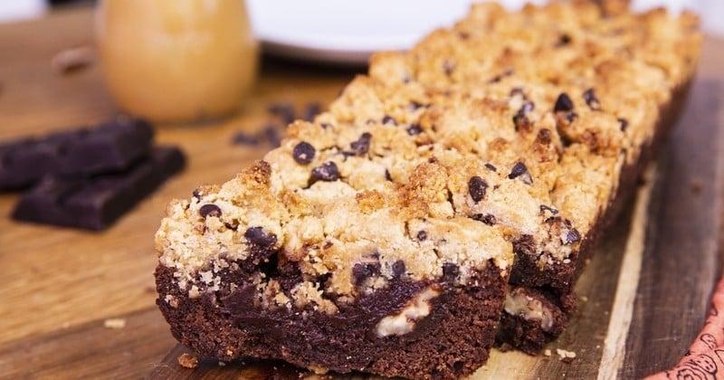 brookie, entre brownie cookie