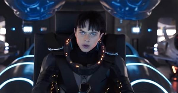 La première bande-annonce explosive de « Valérian et la Cité des Mille Planètes », le blockbuster attendu de Luc Besson, est là !