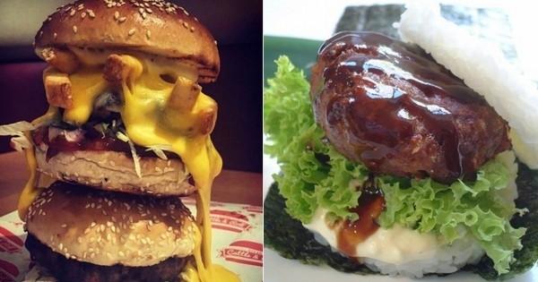 Les 11 burgers les plus dingues du monde (à essayer au moins une fois dans  sa vie?)
