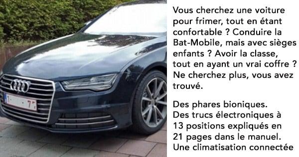 N'arrivant pas à vendre sa voiture estimée à 52 000 euros, il publie l'annonce la plus drôle du web ! Une offre à ne pas rater...
