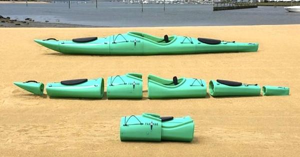 Découvrez Pakayak, le nouveau kayak pliable qui rentre dans votre sac à dos !