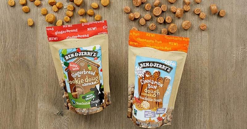 Ben & Jerry's va vendre ses pépites de «cookie dough» avec un goût nouveau !