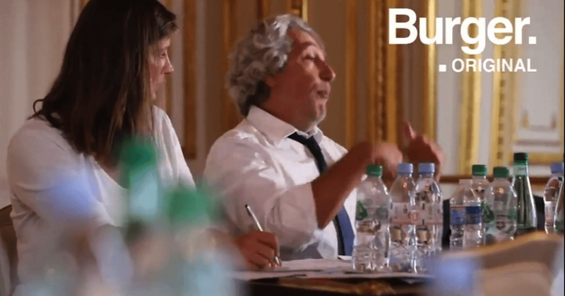 « Burger Quiz » : Alain Chabat se paye Emmanuel Macron dans un teaser tordant