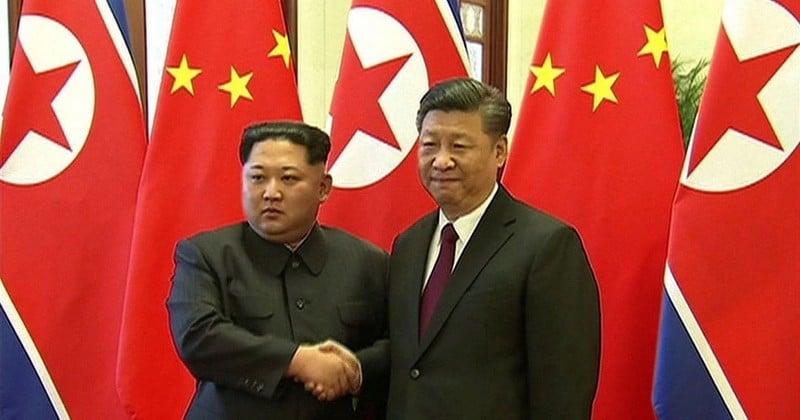 Kim Jong-un s'est rendu à l'étranger pour la première fois depuis 2011, en Chine, avant de rencontrer Donald Trump