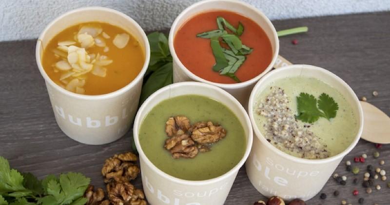Dubble soutient Restaurant sans Frontières grâce à ses soupes !