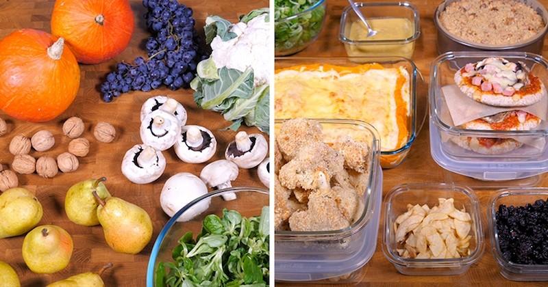 Batch cooking : Découvrez cinq recettes à petits prix à cuisiner