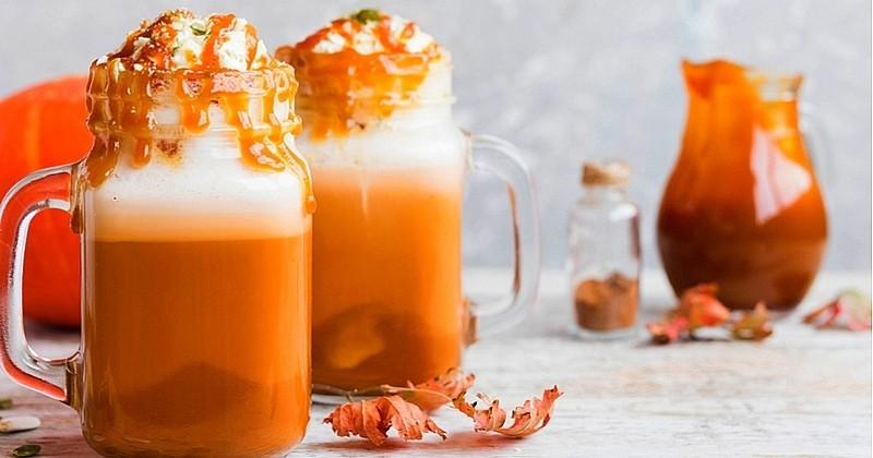 Réchauffez-vous avec notre Pumpkin Latte aux quatre épices !
