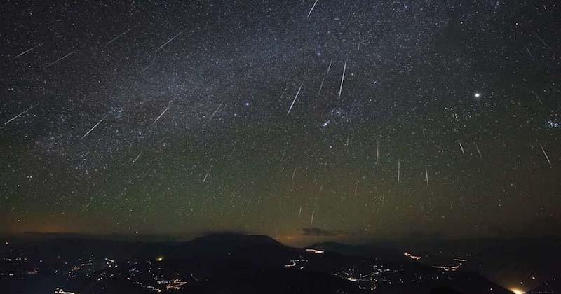 Dans la nuit du 13 au 14 décembre, ne ratez pas les Géminides, une magnifique pluie d'étoiles filantes