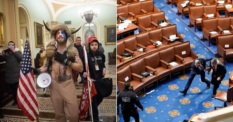 34 photos choc de l'attaque du Capitole américain par les pro-Trump