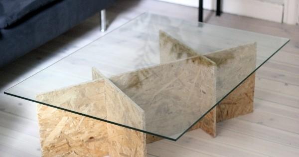 DIY : Fabriquez vous-même votre propre table basse design