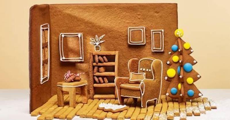 Recréez votre maison en pain d'épices grâce au Kit Ikea