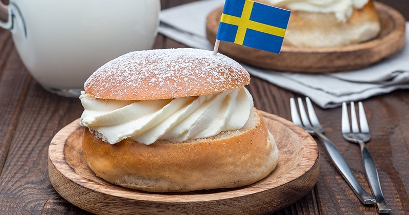 Beignet de Mardi gras : le Semla Suedois