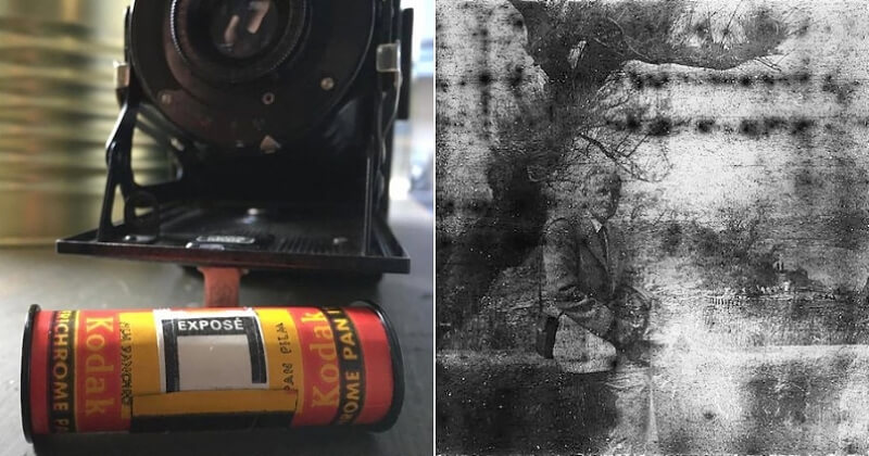 Il développe la pellicule d'un vieil appareil acheté en friperie et tombe sur des photos surprenantes - Demotivateur