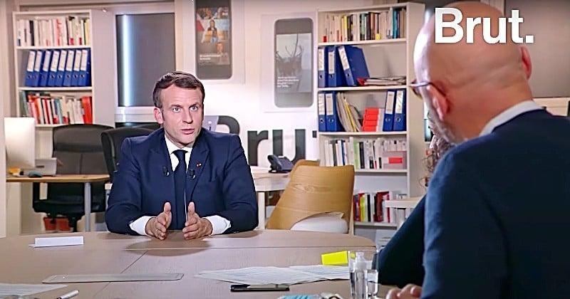 « Peut-être que je devrais faire des choses dans la dernière année (...) qui rendront impossible le fait que je sois candidat » déclare Emmanuel Macron