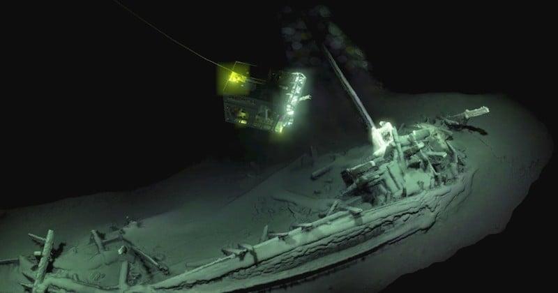 La plus vieille épave du monde retrouvée intacte dans les profondeurs de la mer Noire