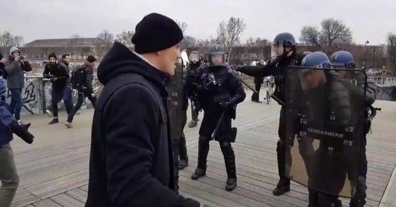 Soupçonné d'avoir frappé 2 gendarmes, le boxeur Christophe Dettinger s'explique dans une vidéo