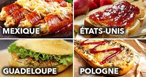 Voici 12 sandwichs parmi les plus exotiques du monde : un tour du monde gourmand qui va vous donner faim !