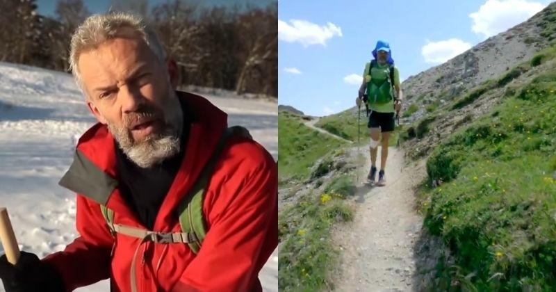 Atteint de la maladie de Parkinson, cet homme a parcouru plus de 1 000 km dans les Alpes, en trois mois