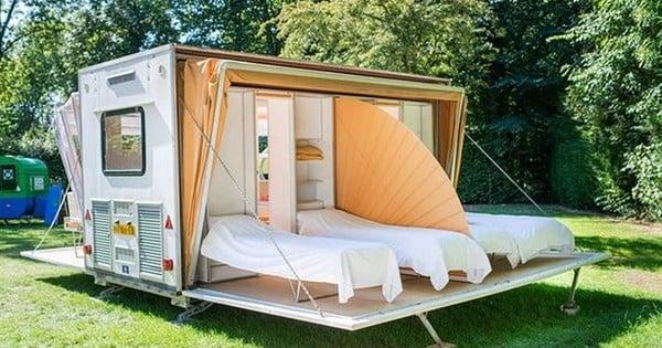 on a trouv la caravane parfaite pour partir en vacances. Black Bedroom Furniture Sets. Home Design Ideas