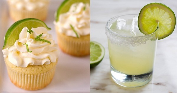 Vous aimez la margarita, le célèbre cocktail? Vous allez adorer ce cupcake !