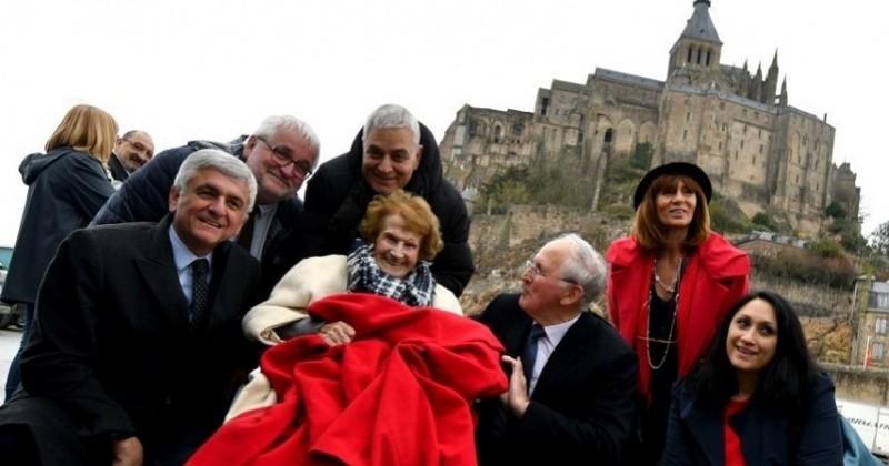 Maryse Lancioni, 111 ans, doyenne des Alpes-Maritimes, réalise son rêve : voir le Mont-Saint-Michel