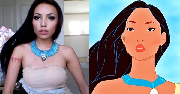 Cette jeune fille ressemble étrangement à toutes les princesses Disney, vous allez vite découvrir pourquoi !