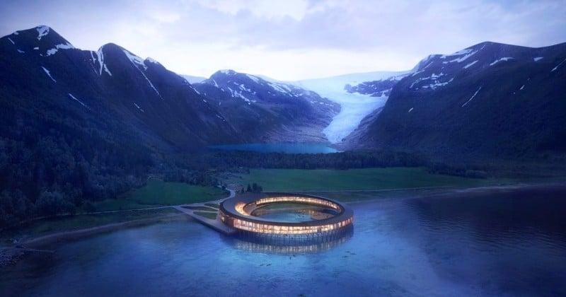 Norvège: un hôtel 100% écolo va ouvrir en plein cœur du cercle arctique d'ici 2021