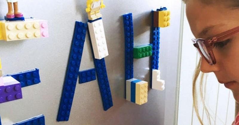 Ce ruban Lego va vous permettre de transformer tout et n'importe quoi en surface Lego... Et les possibilités sont infinies !