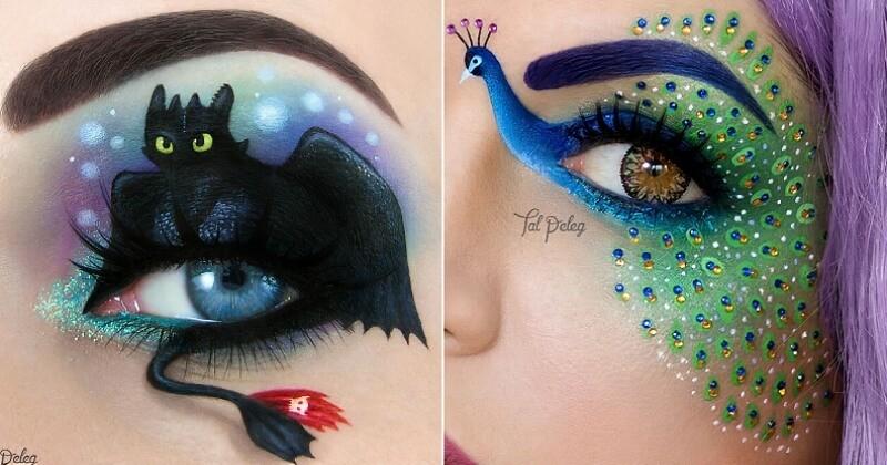 Cette make-up artiste transforme les paupières en d'incroyables tableaux colorés
