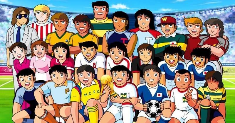 Voici les sportifs les plus populaires dans le domaine de l'animation des années 80
