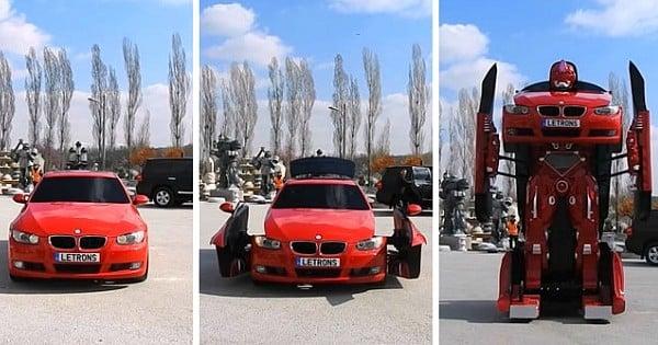 Un ingénieur turc construit un Transformers pour de vrai : impressionnant !