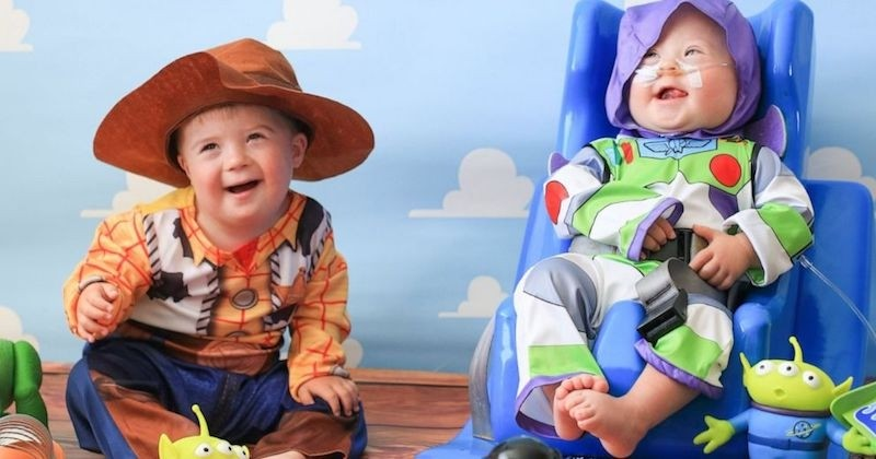 Une séance photo magique pour ces enfants, porteurs de trisomie 21, déguisés en personnages Disney
