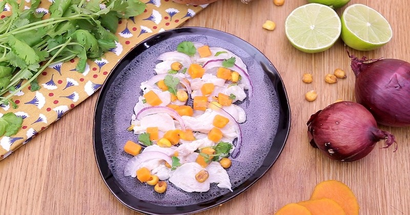Pour le match France Pérou, jonglez entre le tartare et le ceviche avec nos deux recettes au saumon et au cabillaud!