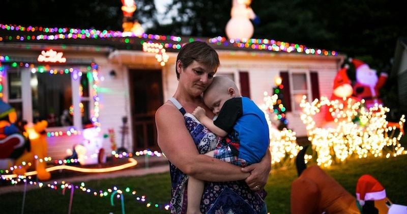 L'incroyable Noël de Brody, un garçon de 2 ans atteint d'une maladie incurable, qui n'a plus que quelques semaines à vivre
