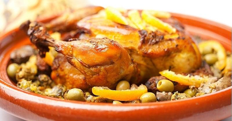 Réalisez un tajine de poulet et aux olives pour un plat riche en goût !