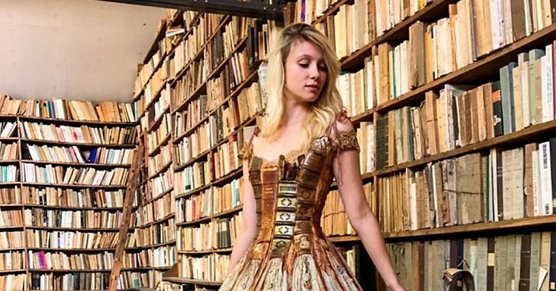 Cette créatrice française crée des robes hors du commun