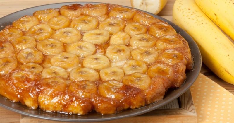 La tarte tatin aux bananes caramélisées : un dessert qui vous fera fondre de douceur !