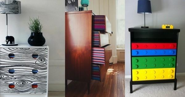 20 idées déco pour customiser votre vieille commode