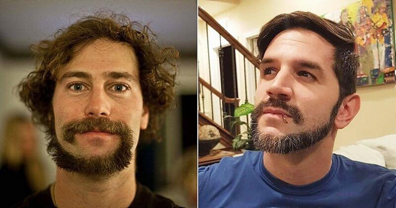 #MonkeyTailBeard, la nouvelle tendance qui pousse les hommes à se raser la barbe en forme de queue de singe