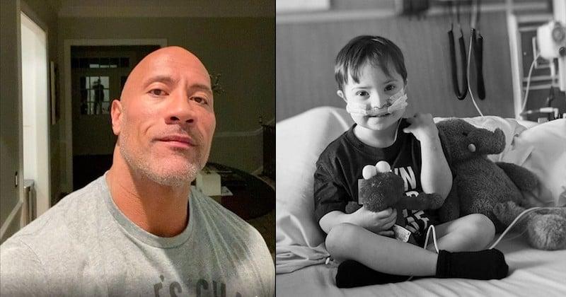 La touchante vidéo de Dwayne Johnson qui chante la chanson de Vaiana pour un petit garçon malade