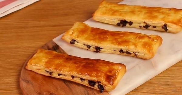 pains suisses aux pépites de chocolat